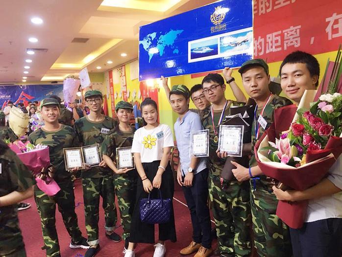 君威国际-服务团队拓展培训